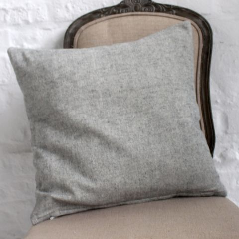 BLAIR CUSHION, CLOUD GREY