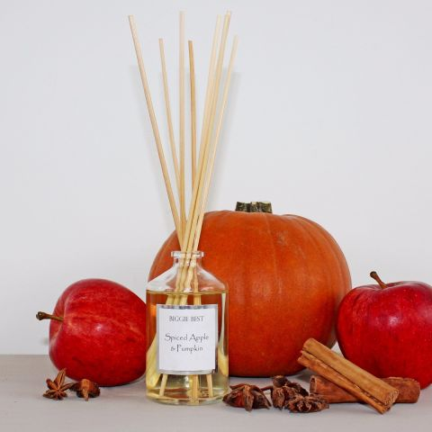 Luxury Fragrance Diffuser, Spiced Apple & Pumpkin