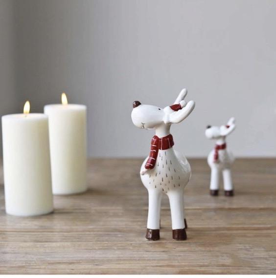 Ceramic reindeer & friends