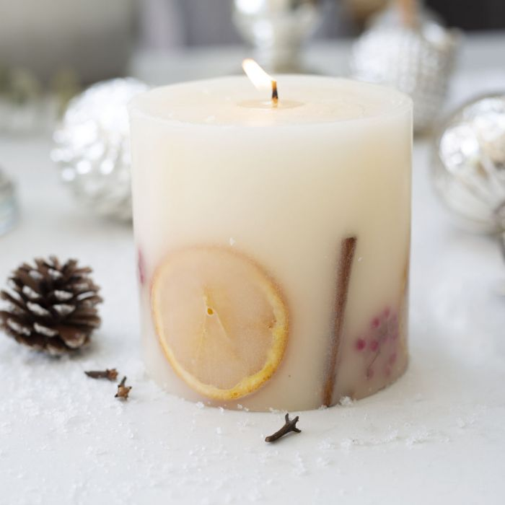 Botanical Candle, Orange, Clove & Cinnamon