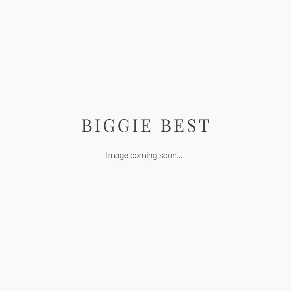 White 50cm Base and Linen Shade Set