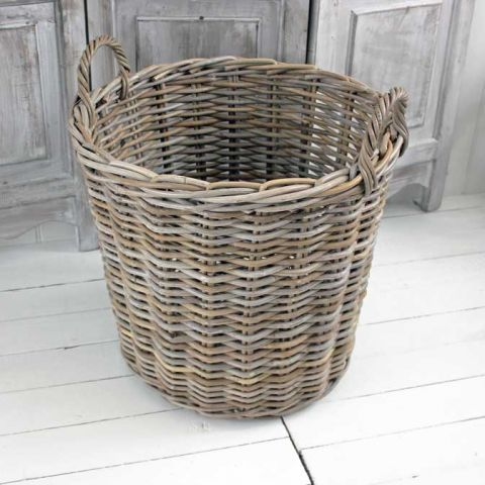Round Kubu Basket