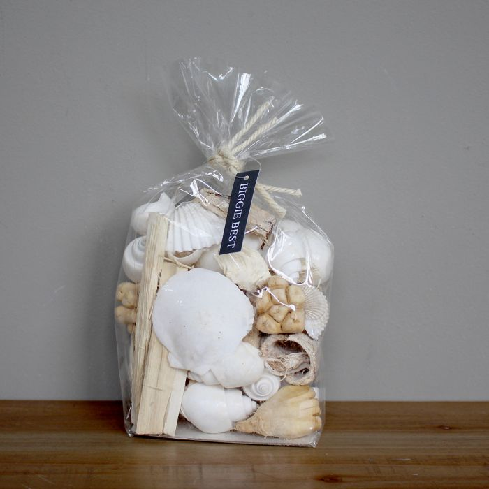WHITE SEA SHELLS MIXED BAG