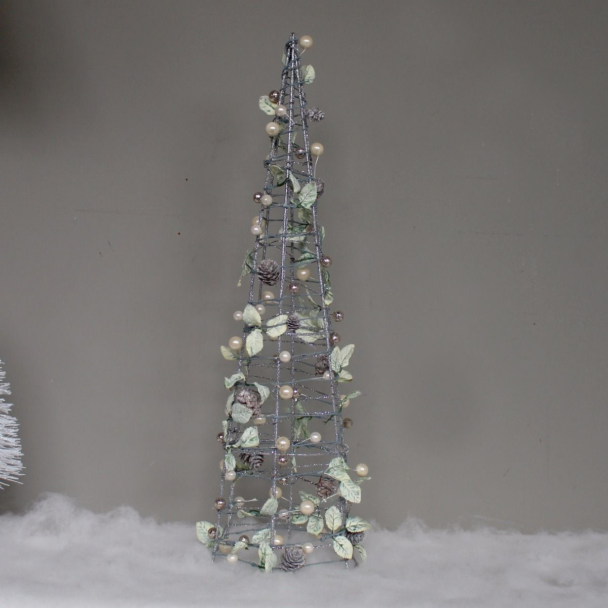 metal christmas tree silver metal tree 10899