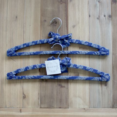 SET OF 2 SAVI HANGERS - BLUE