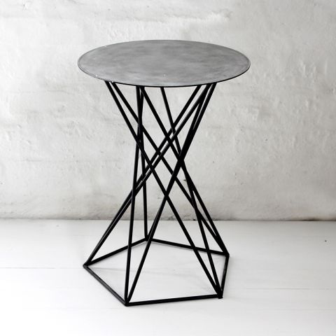 HOLBOX METAL OCCASIONAL TABLE